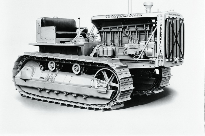 Výlet do historie: Caterpillar