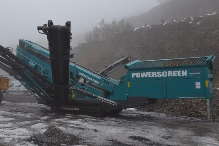 Demo Tour 2017 – stroje POWERSCREEN