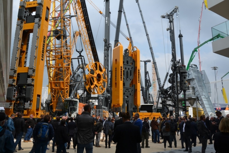 "Liebherr Bauma 2019 - ""Together, Now & Tomorrow."""