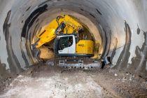 Nové tunelové pásové rypadlo Liebherr R 950 T