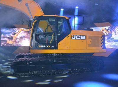 JCB představila novou řadu pásových rýpadel série X