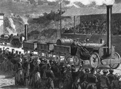 Historie železnice - George Stephenson