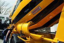 Hardox® 450 dokáže v bubnových míchačkách betonu ušetřit šestinu zatížení