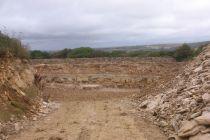 Těžba vápence v Dorsetu