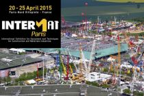 INTERMAT Paříž 2015 - Veletrh v dynamickém rytmu