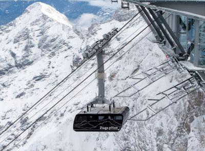 Nejsilnější lano světa drží lanovku na Zugspitze
