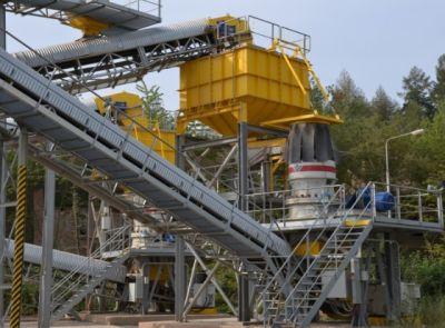 Moderní technologická linka na Rakovnicku v kamenolomu Brant