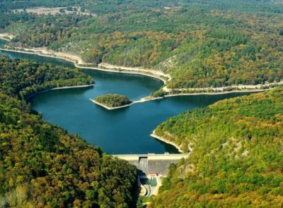 Vodní nádrž Klíčava - zásobárna vody