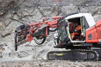 Nový Sandvik Ranger DX800i pro společnost SWIETELSKY stavební s.r.o.